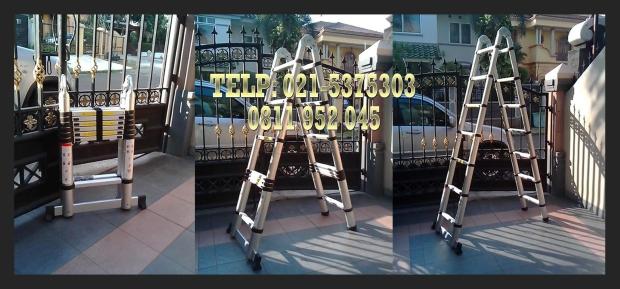 Tangga Teleskopik Multipurpose 4.4m